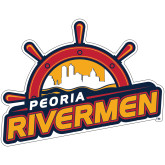 Super Large Decal-Peoria Rivermen Secondary Mark, 24in Wide