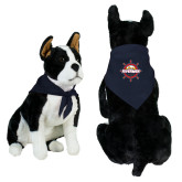Navy Pet Bandana-Primary Mark