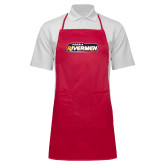Full Length Red Apron-Peoria Rivermen - Hockey Stick