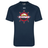 Under Armour Navy Tech Tee-Primary Mark