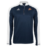 Adidas Modern Navy Varsity 1/4 Zip-Peoria Rivermen Secondary Mark