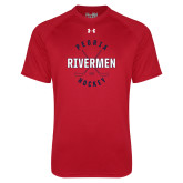 Under Armour Red Tech Tee-Crossed Sticks