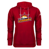 Adidas Climawarm Red Team Issue Hoodie-Peoria Rivermen Secondary Mark