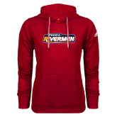 Adidas Climawarm Red Team Issue Hoodie-Peoria Rivermen - Hockey Stick