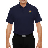 Under Armour Navy Performance Polo-Primary Mark w/out Peoria