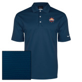 Nike Dri Fit Navy Pebble Texture Sport Shirt-Primary Mark w/out Peoria