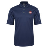 Nike Golf Tech Dri Fit Navy Polo-Primary Mark w/out Peoria