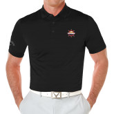 Callaway Opti Vent Black Polo-Primary Mark w/out Peoria