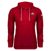 Adidas Climawarm Red Team Issue Hoodie-Primary Mark w/out Peoria