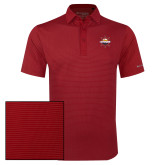 Columbia Red Omni Wick Sunday Golf Polo-Primary Mark w/out Peoria