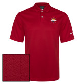 Nike Sphere Dry Red Diamond Polo-Primary Mark w/out Peoria