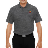 Under Armour Graphite Performance Polo-Primary Mark w/out Peoria