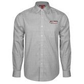 Red House Grey Plaid Long Sleeve Shirt-Peoria Rivermen - Hockey Stick