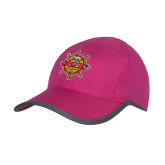 Pink/Charcoal Trail Blaze Cap-Primary Mark w/out Peoria