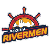 Extra Large Magnet-Peoria Rivermen Secondary Mark, 18in Wide
