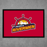 Full Color Indoor Floor Mat-Peoria Rivermen Secondary Mark
