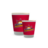 Full Color Shot Glass 1.5oz-Peoria Rivermen Secondary Mark