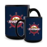 Full Color Black Mug 15oz-Primary Mark