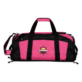 Tropical Pink Gym Bag-Primary Mark w/out Peoria
