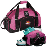 Ogio Pink Big Dome Bag-Primary Mark w/out Peoria
