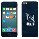 iPhone 5/5s Skin-Stacked Shield/Phi Delta Theta