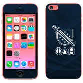 iPhone 5c Skin-Stacked Shield/Phi Delta Theta