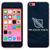 iPhone 5c Skin-Stacked Shield/Phi Delta Theta
