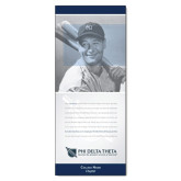 33.5 x 80 Vertical Banner including Silver Retractable Banner Stand-Lou Gehrig w/ Personalization