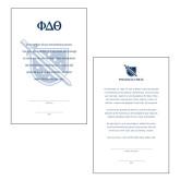 8.5 x 5.5 Generic Bid Cards 25/pkg-
