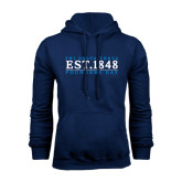 Navy Fleece Hoodie-Founders Day 1848