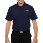 Under Armour Navy Performance Polo-LLL Signature