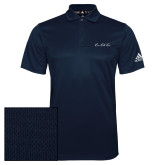 Adidas Climalite Navy Grind Polo-LLL Signature