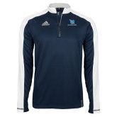 Adidas Modern Navy Varsity 1/4 Zip-Stacked Shield/Phi Delta Theta