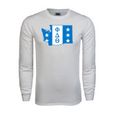 White Long Sleeve T Shirt-Washington