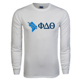 White Long Sleeve T Shirt-Washington D.C.