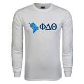 White Long Sleeve T Shirt-Washington D.C.