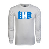 White Long Sleeve T Shirt-Pennsylvania
