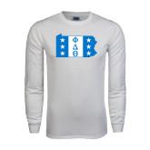 White Long Sleeve T Shirt-Pennsylvania