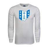 White Long Sleeve T Shirt-Ohio
