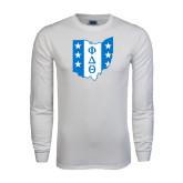 White Long Sleeve T Shirt-Ohio