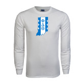 White Long Sleeve T Shirt-Indiana