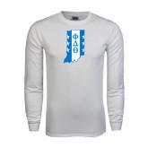 White Long Sleeve T Shirt-Indiana