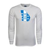 White Long Sleeve T Shirt-Georgia