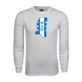White Long Sleeve T Shirt-Mississippi