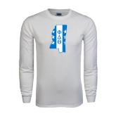 White Long Sleeve T Shirt-Mississippi