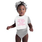 White Baby Bib-Future Phi Delt Sweetheart