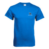 Royal T Shirt-Stacked Shield/Phi Delta Theta