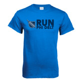 Royal T Shirt-Run Phi Delt