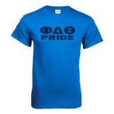 Royal T Shirt-Phi Delta Theta Pride
