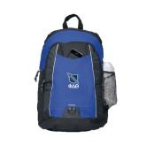 Impulse Royal Backpack-Stacked Shield/Phi Delta Theta Symbols